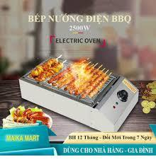 Bếp Nướng Điện BBQ Không Khói, Inox 201, 2500W. Dùng cho Nhà Hàng, Gia  Đình. lò nướng điện / bếp nướng điện / bếp hồng ngoại/ noi chien khong dau  / bếp