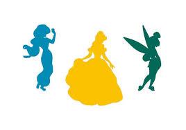 Disney Princess Vinyl Sticker For Car Wall Window Laptop Etsy