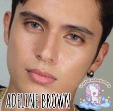 CTTO (Photo) ✅ ADELINE BROWN by Dream... - Crystal Contact Lens ...