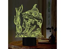 Fishing Addiction Fishing Design Led Night Lights 7 Changing Colors Night Lamp As Kids Room Decor Home Decor Birthday Gift Newegg Com