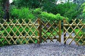 Unique Garden Fence Ideas Garden Fencing For A Better Exterior Bamboo Garden Fences Bamboo Fence Cheap Garden Fencing
