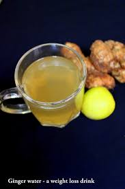 ginger water for weight loss ginger