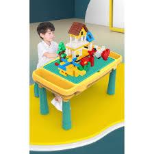 XẾP CẢ THẾ GIỚI] Đồ Chơi Xếp Hình Bàn Đồ Chơi Lắp Ráp Lego Bằng Gỗ Cho Trẻ  Em Thỏa Sức Sáng Tạo