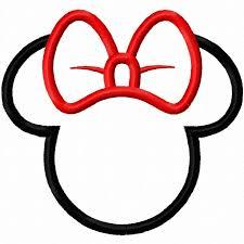 minnie mouse head clipart gclipart