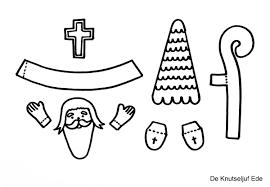 Sinterklaas Van Papier Met Gratis Printables Sinterklaas