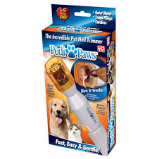 pedi paws dog nail trimmer as seen on tv