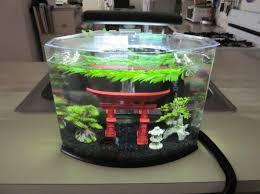 18+ Tetra Crescent Acrylic Aquarium Kit Background