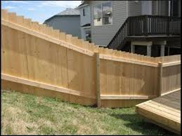 Some Handy Tips For Building A Fence On A Slope Youtube