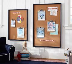 Framed Navy Kids Bulletin Board Pottery Barn Kids