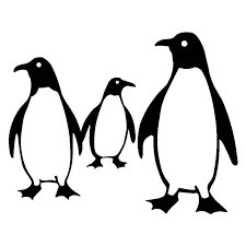 18 2cm 14 5cm Emperor Penguin Family Car Styling Stickers Decals Black Silver S3 5488 Decal Sticker Family Stickersstickers Black Aliexpress