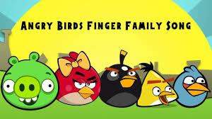 Angry Birds Finder Family Song | Nursery Rhymes Pappa Pig: Kindly ...