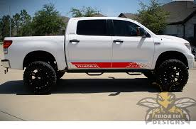Tundra Mountains Graphics Toyota Tundra Side Decals And Stickers