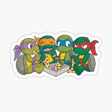 Teenage Mutant Ninja Turtles Stickers Redbubble