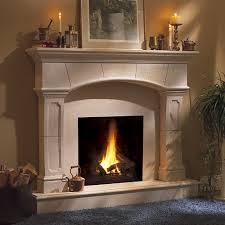 hanover classic stone fireplace mantel