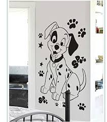decal style dog wall sticker wall