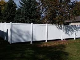 Vinyl Fencing Installation Repair In The Appleton Green Bay Area