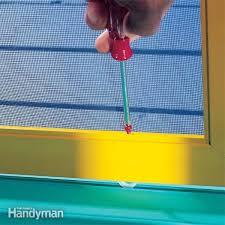 sliding screen door repair tips the
