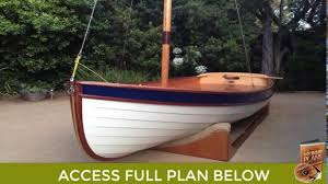 how to build a wooden sd boat