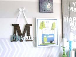 7 Ways To Display Your Child S Name In Their Bedroom