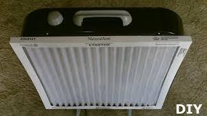 diy air filtration system homemade