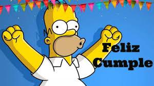 Imagenes De Cumpleanos De Los Simpson Imagenes Y Tarjetas De
