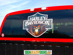Harley Window Decal Signblazersigns