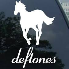 Deftones White Pony Note Bumper Sticker Decal Car Window Premium Quality White Die Cut Vinyl Decal 6 White Stickers Aliexpress