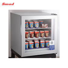 china 21l whole freezers mini glass