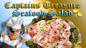 Gagajoy . Best Seafood Salad EVER ...