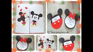 Invitacion Mickey Y Minnie Mouse Youtube