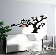 Japanese Bonsai Tree Nature Decor Japan Island Wall Sticker Vinyl Deca Wallstickers4you