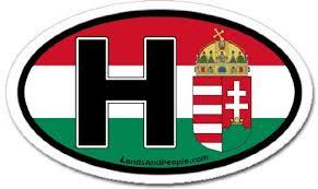 Hungary Hungary Hungary Flag Bumper Stickers