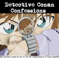 Detective Conan Confessions — Ran honestly pissed me off in the The...