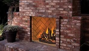 outdoor vent free gas firebox
