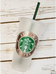 Personalized Starbucks 24 Oz Venti Reusable Cold Cup With Custom Vinyl Decal Or Decal Only