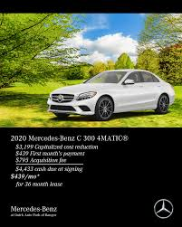 2020 mercedes benz c300 4matic 439