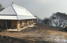 wildfires and straw bale construction