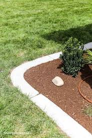 install concrete landscape edging aka
