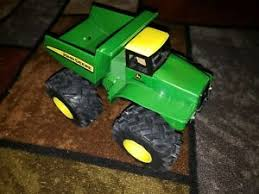 john deere green monster wheel dump