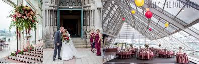 pretty pink mauve and burgundy wedding
