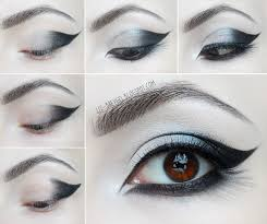 beauty angel goth eye makeup tutorial