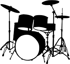 Musical Instruments Drums Music Wall Stickers Wall Art Decal Clip Art Library