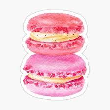 Macaron Stickers Redbubble