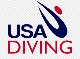 United States Usa Diving Diving Boards Usa Swimming United States Text Sport Logo Png Pngwing
