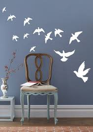 Dove Of Peace Wall Stickers Wit