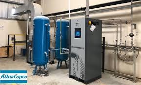 nitrogen generation replaces bottles