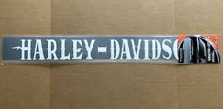 Harley Davidson Rear Window Decal Sticker Windshield New Ebay