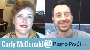 Talking with Piano Pedagogue Carly McDonald just before PianoPivotLive 2020  - YouTube