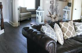 best of brown leather couch living room