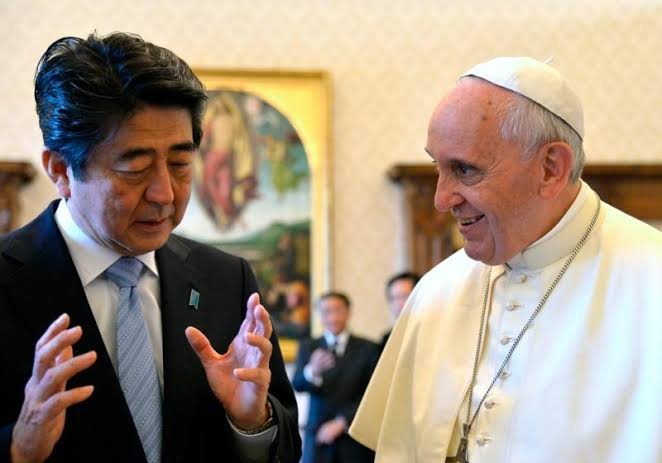 "Image result for pope francis japan visit"""